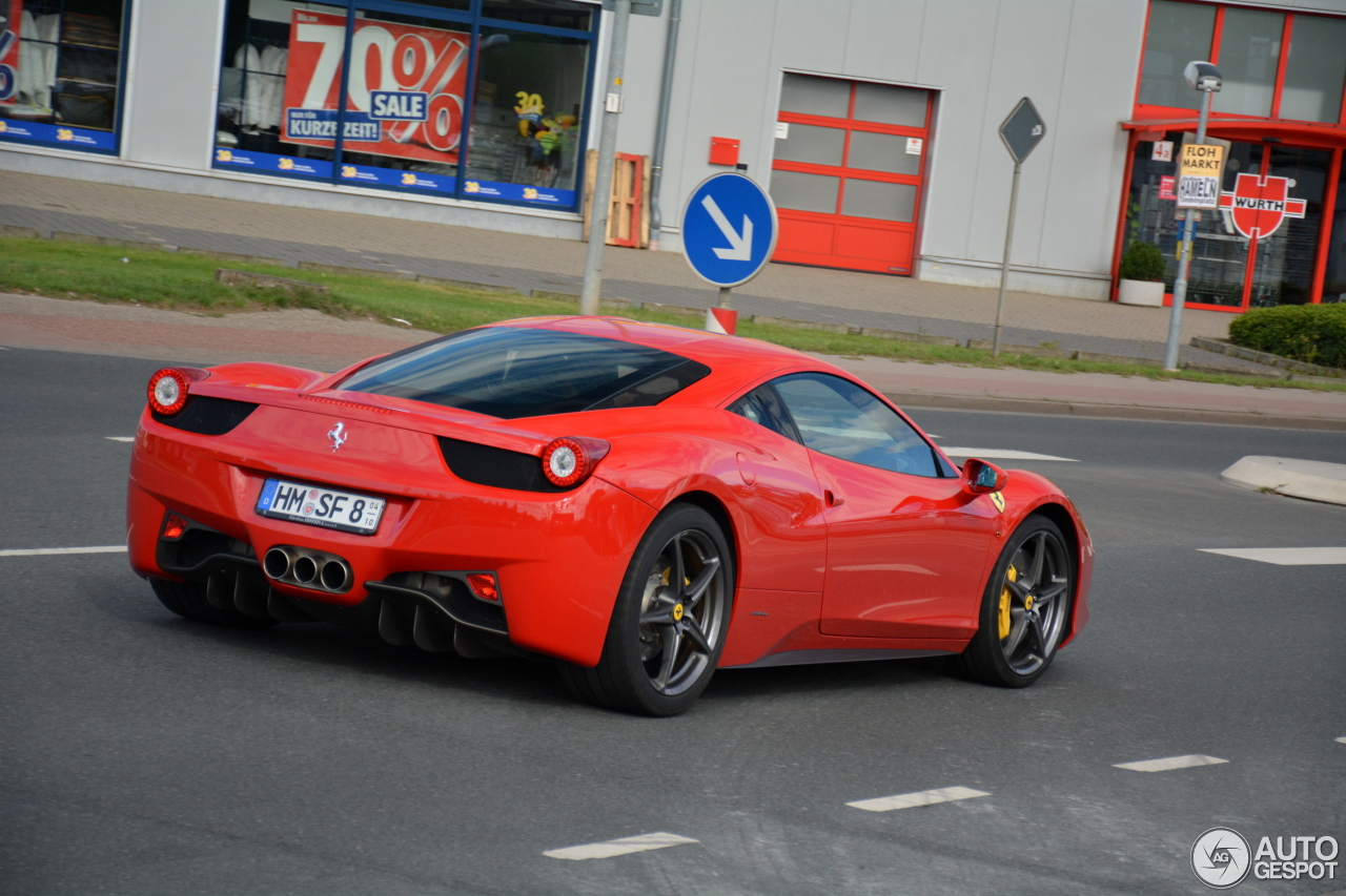ferrari 458 italia 15 august 2016 autogespot. Cars Review. Best American Auto & Cars Review