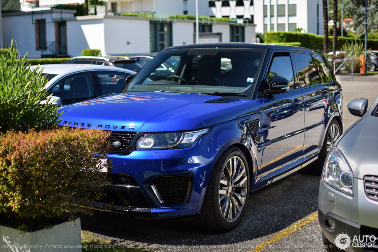 land rover range rover sport svr 15 ao t 2016 autogespot. Black Bedroom Furniture Sets. Home Design Ideas