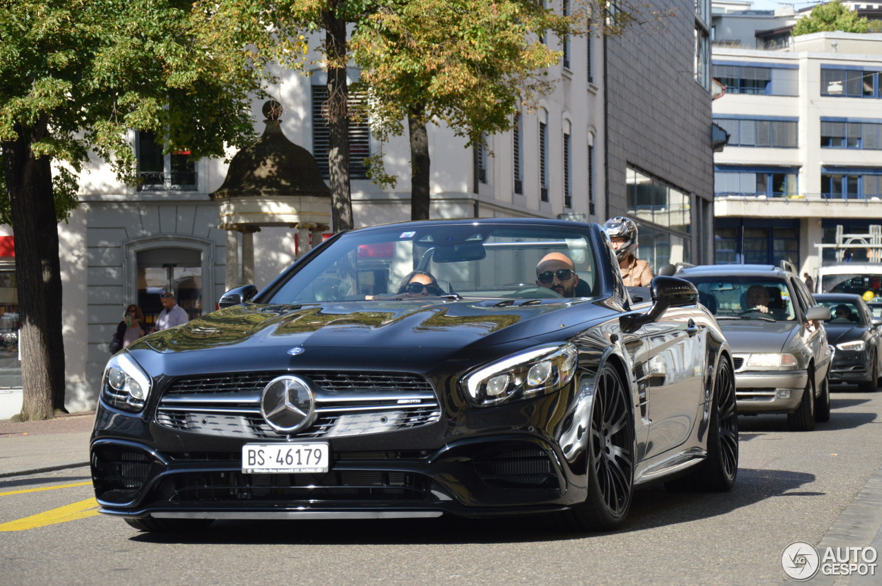 mercedes amg sl 63 r231 2016 15 august 2016 autogespot. Black Bedroom Furniture Sets. Home Design Ideas