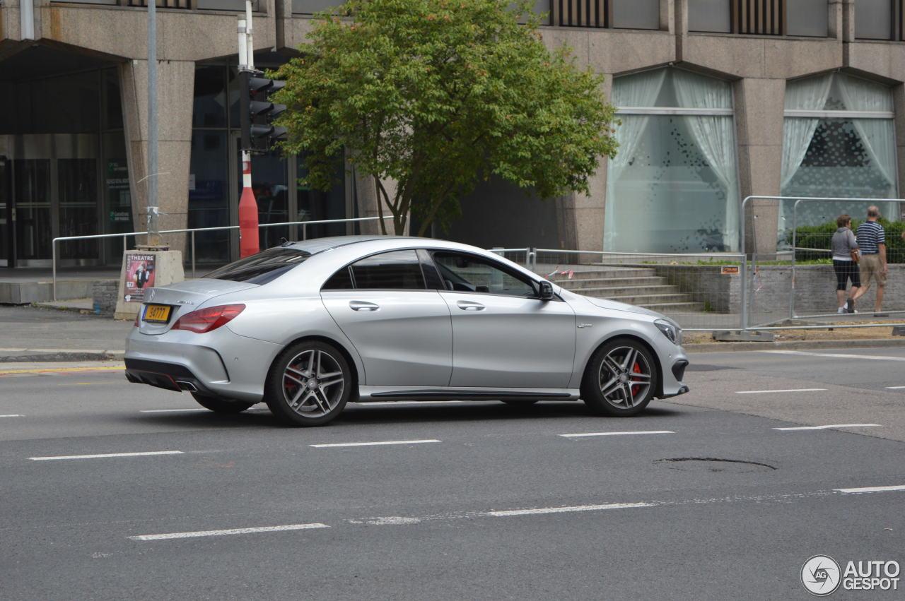 Mercedes benz cla 45 amg c117 15 august 2016 autogespot for Mercedes benz cla 45 price