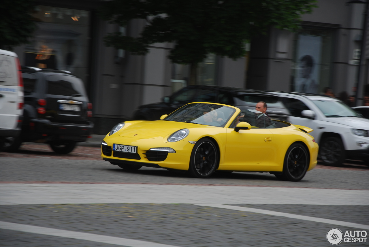 porsche 991 carrera s cabriolet 15 august 2016 autogespot. Black Bedroom Furniture Sets. Home Design Ideas