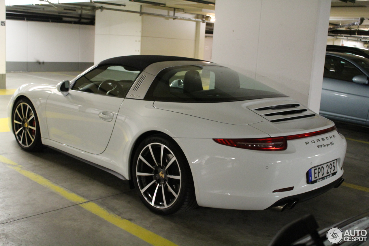 porsche 991 targa 4s 15 august 2016 autogespot. Black Bedroom Furniture Sets. Home Design Ideas