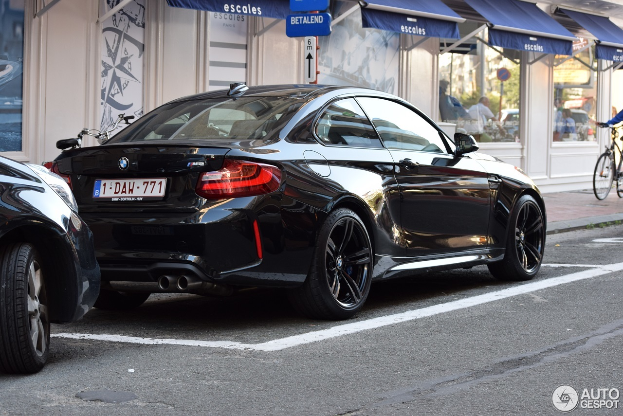 bmw m2 coup f87 16 august 2016 autogespot. Black Bedroom Furniture Sets. Home Design Ideas
