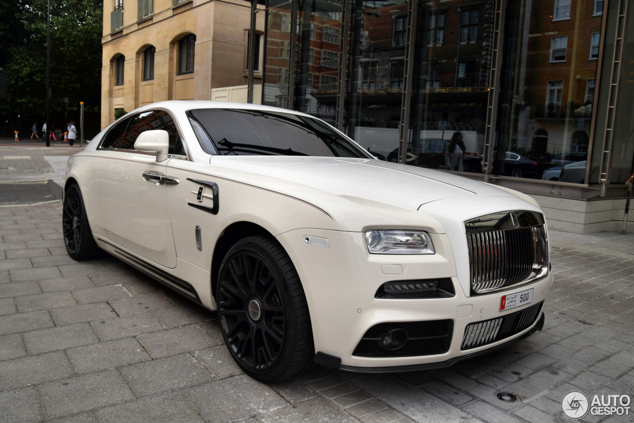 Mansory Rolls Royce Wraith Price >> Rolls-Royce Mansory Wraith - 16 August 2016 - Autogespot