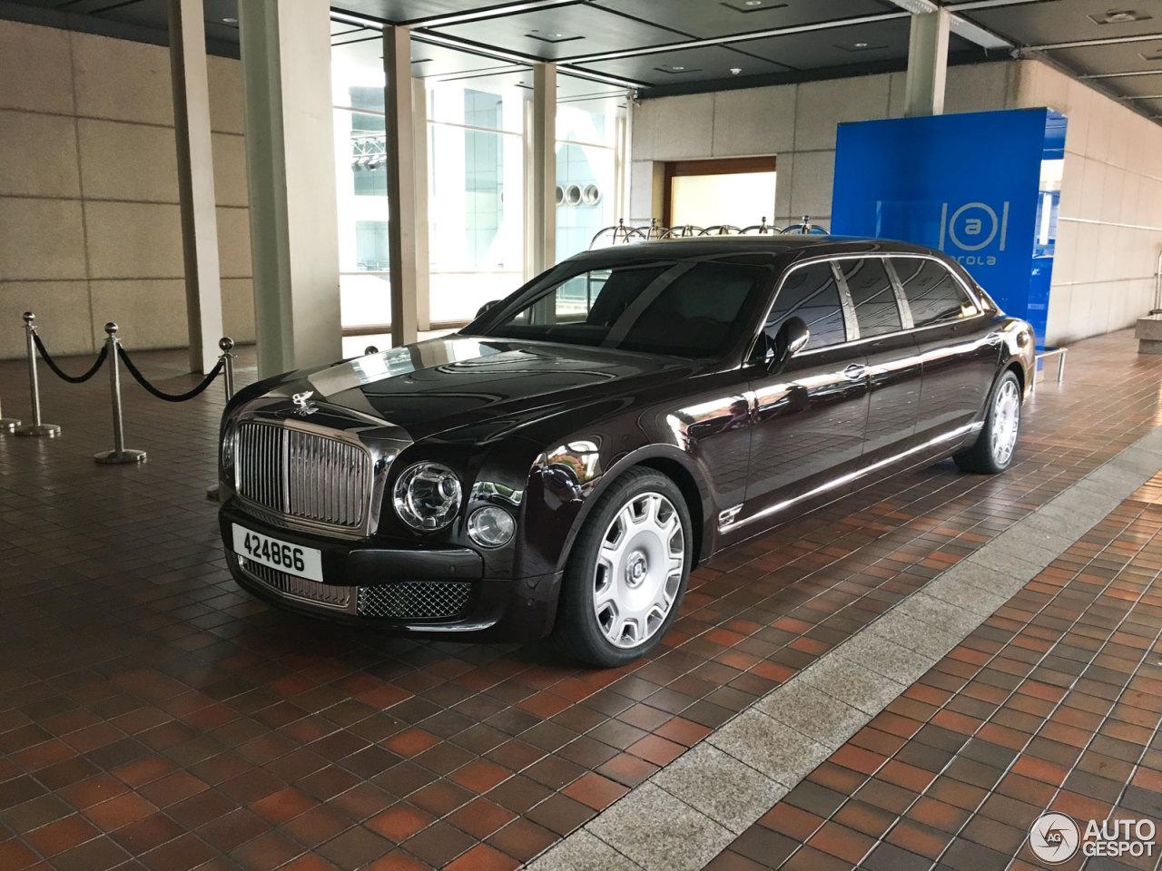 Bentley Mulsanne Grand Limousine 17 August 2016 Autogespot