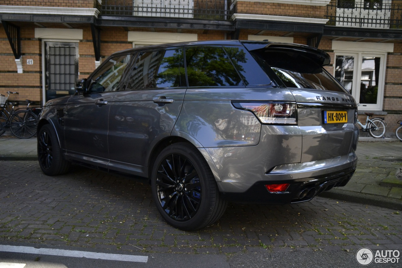 Range Rover Matte Black >> Land Rover Range Rover Sport SVR - 17 August 2016 - Autogespot