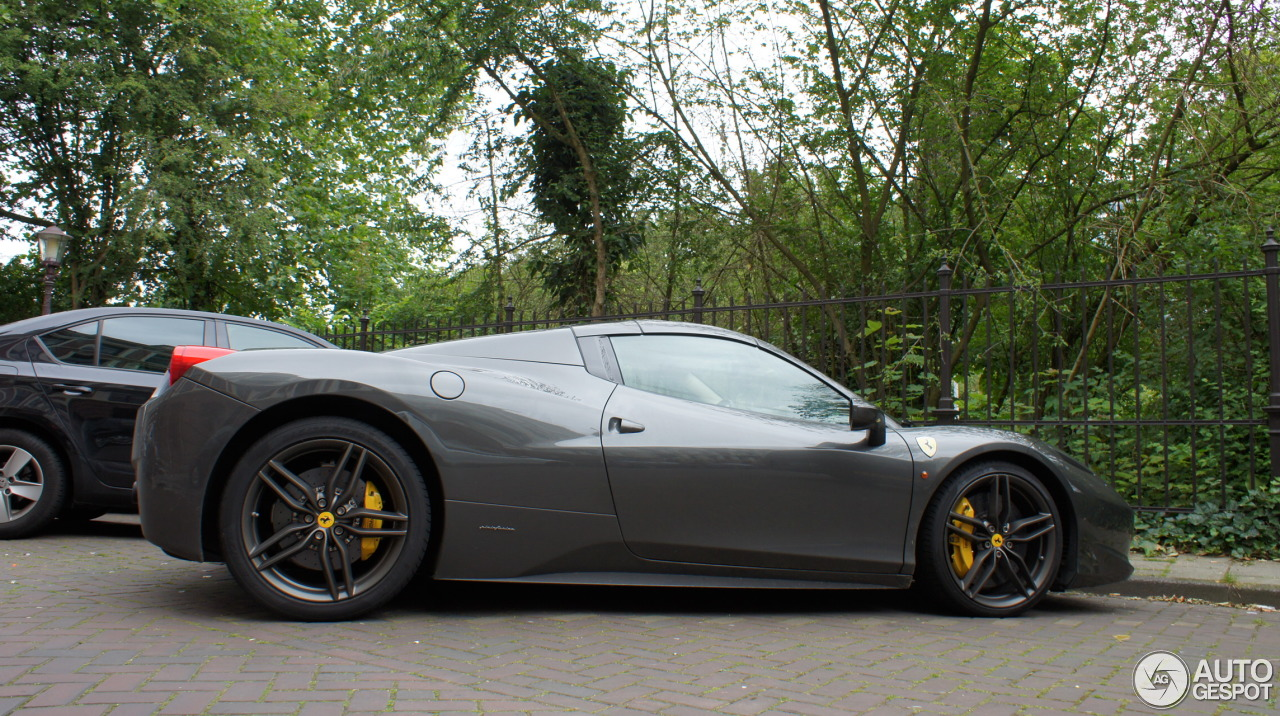 3 i ferrari 458 spider 3 - Ferrari 458 Spider Green