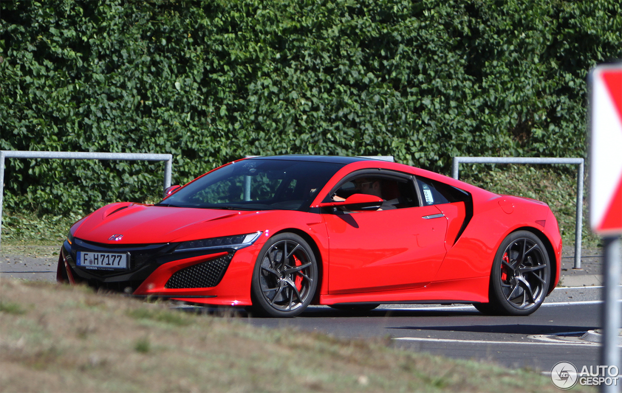honda nsx 2015 18 august 2016 autogespot. Black Bedroom Furniture Sets. Home Design Ideas