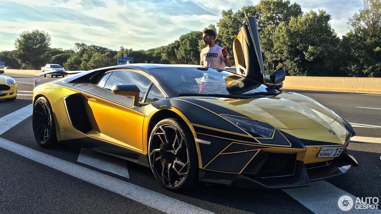 Lamborghini Mansory Aventador Lp700 4 18 August 2016