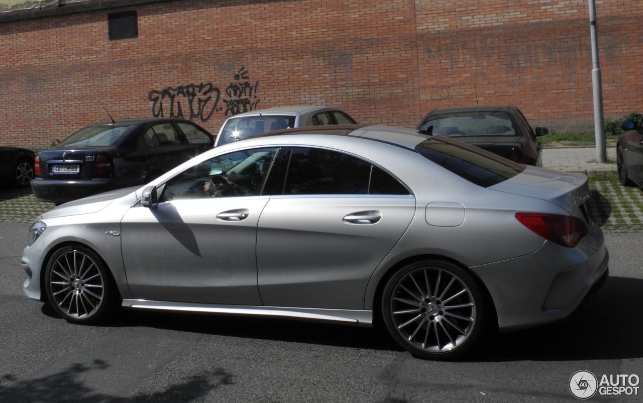 Mercedes benz cla 45 amg c117 19 august 2016 autogespot for Mercedes benz cla 250 2010