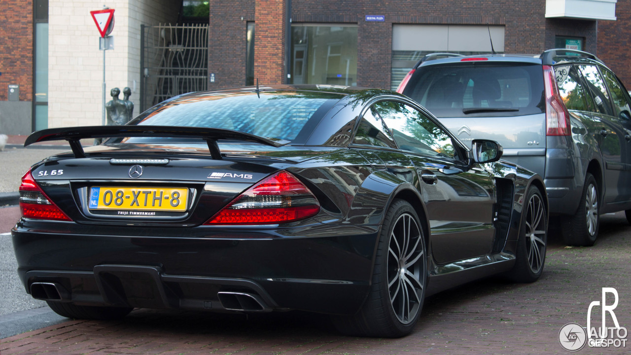 mercedes benz sl 65 amg black series 19 august 2016 autogespot. Black Bedroom Furniture Sets. Home Design Ideas