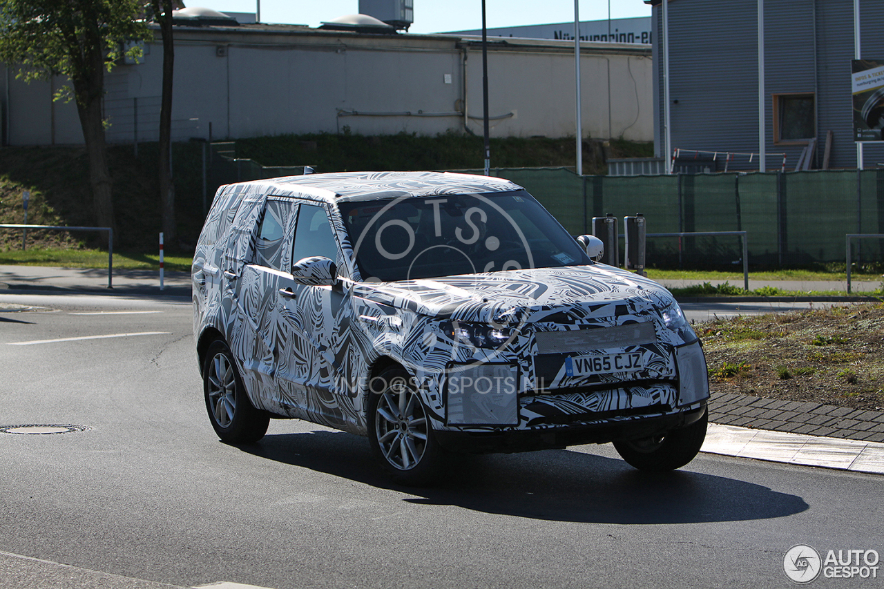 land rover discovery 5 2017 20 augustus 2016 autogespot. Black Bedroom Furniture Sets. Home Design Ideas