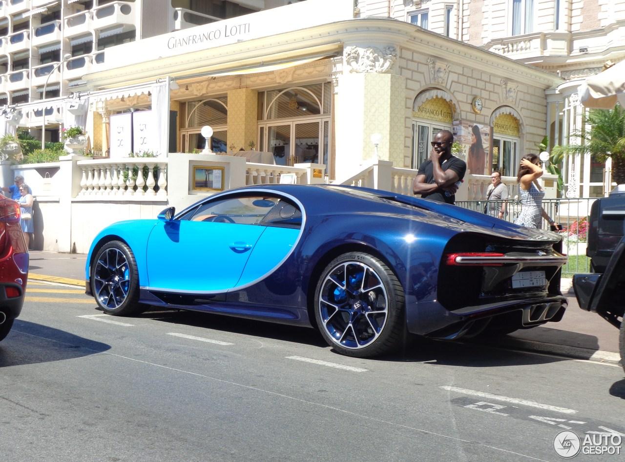 bugatti chiron 21 ao t 2016 autogespot. Black Bedroom Furniture Sets. Home Design Ideas