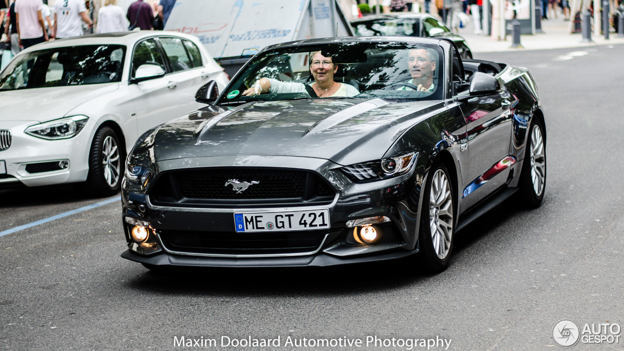 Ford Mustang GT Convertible 2015 - 21 August 2016 - Autogespot