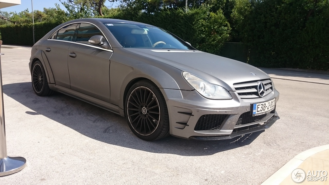 mercedes benz cls 63 amg c219 prior design 21 august. Black Bedroom Furniture Sets. Home Design Ideas