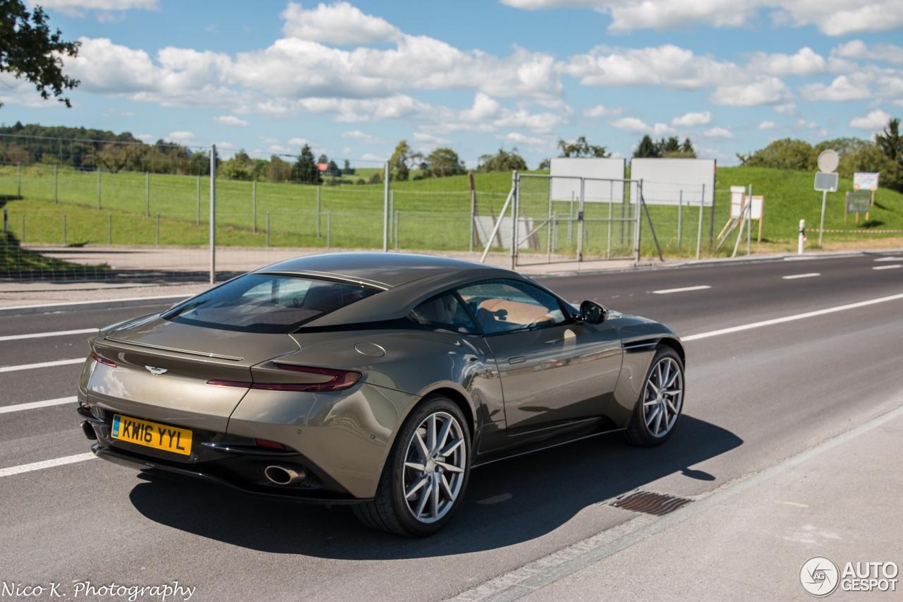 Aston Martin Db11 22 August 2016 Autogespot
