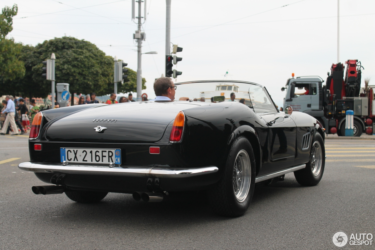 ferrari 250 gt california spider 22 august 2016 autogespot. Cars Review. Best American Auto & Cars Review
