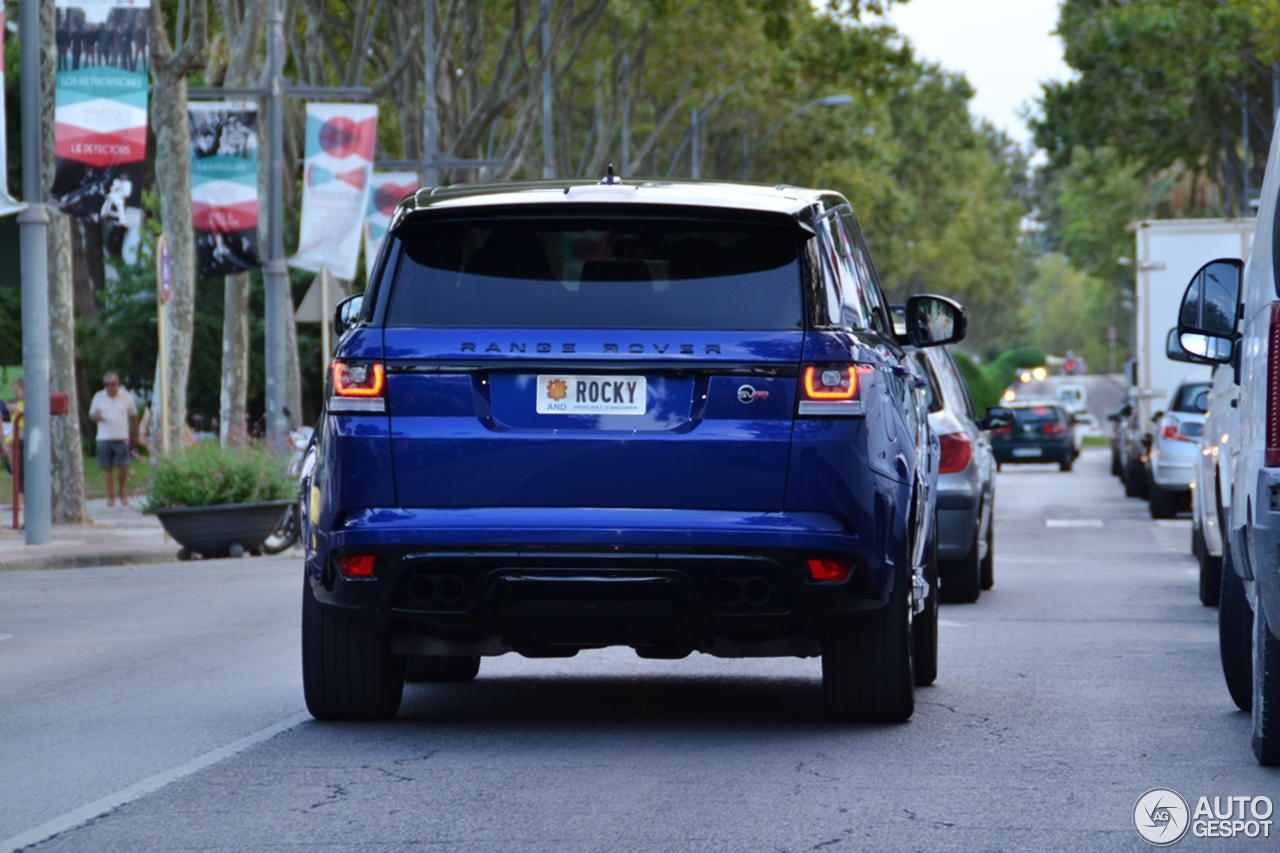 land rover range rover sport svr 22 ao t 2016 autogespot. Black Bedroom Furniture Sets. Home Design Ideas