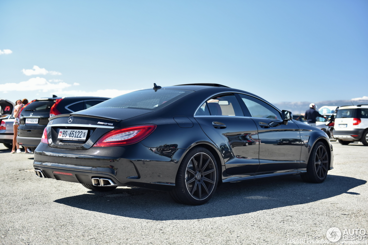 Mercedes benz cls 63 amg c218 2015 22 august 2016 for Mercedes benz cls63 amg price