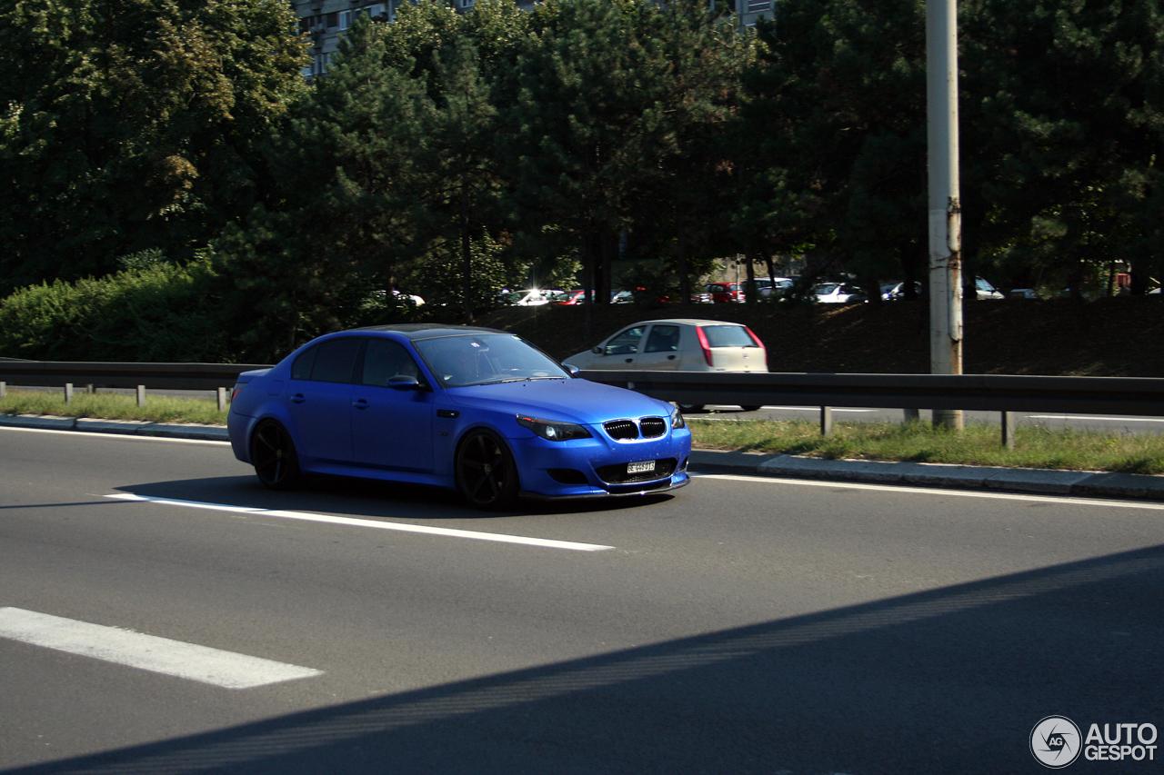 BMW e60 550i m технические характеристики