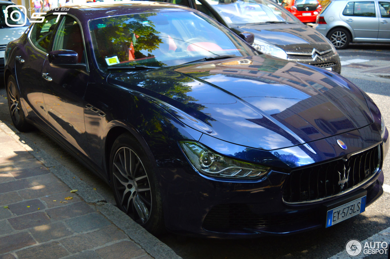 Maserati Ghibli 2013 23 August 2016 Autogespot