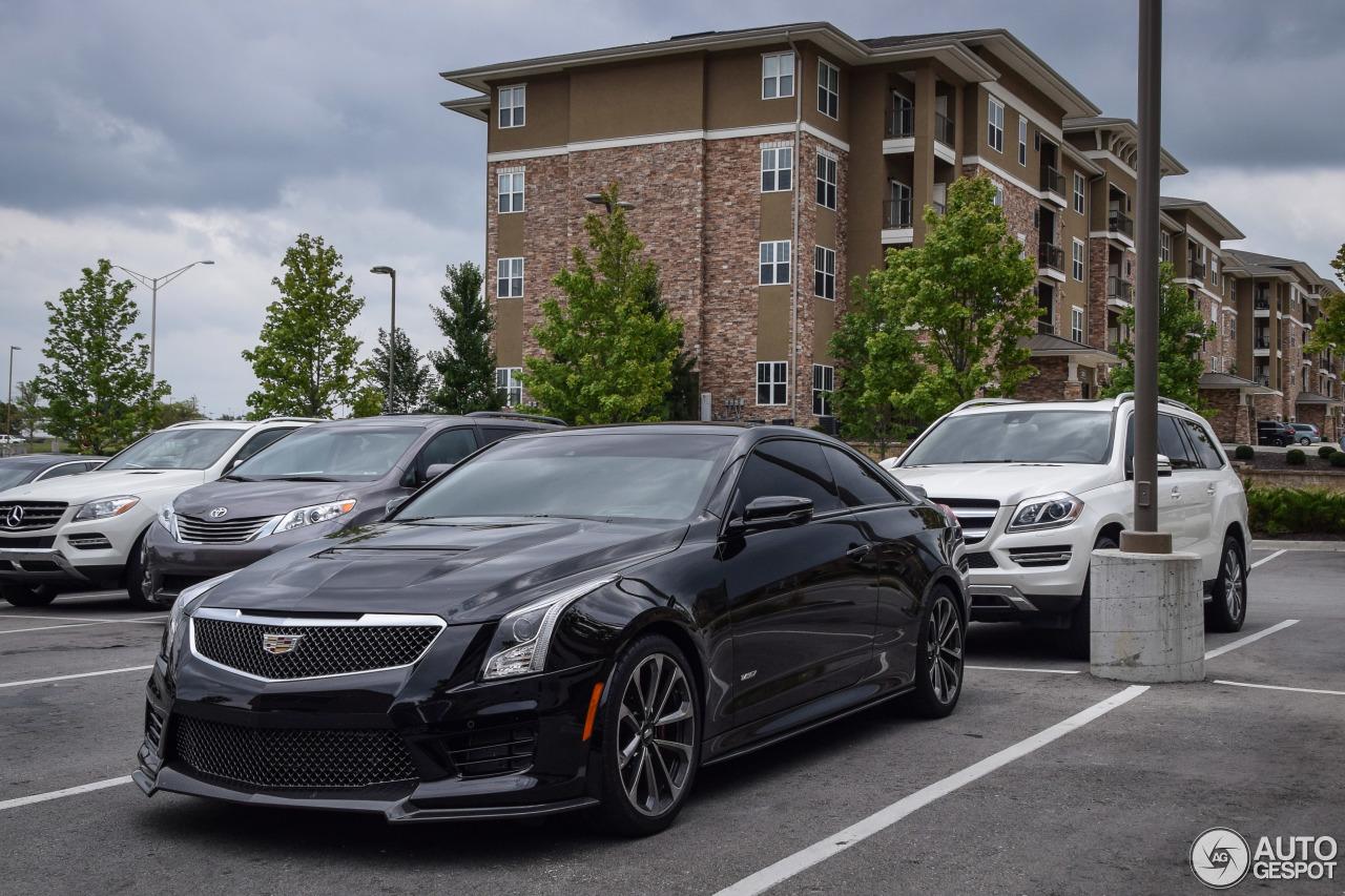 Cadillac ATS-V Coupé - 24 August 2016 - Autogespot