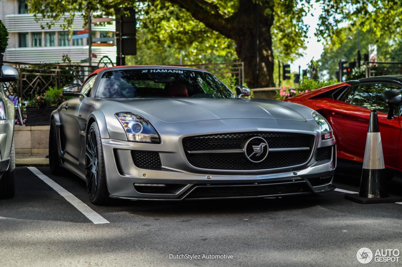 Mercedes benz hamann hawk sls amg roadster 24 august for Mercedes benz hamann