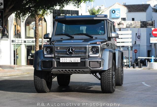 Mercedes-Benz G 500 4X4²
