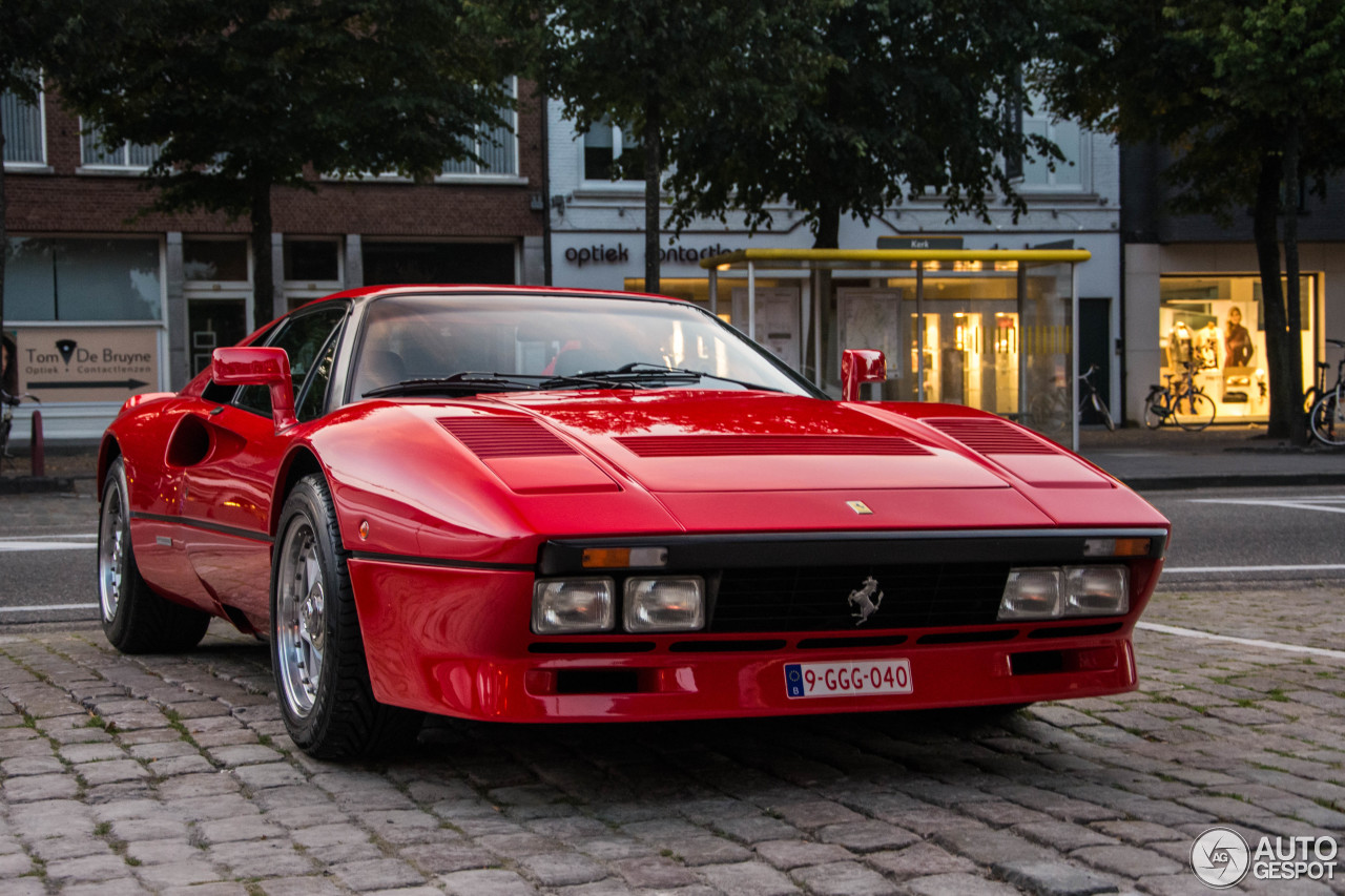 ferrari 288 gto 26 august 2016 autogespot. Black Bedroom Furniture Sets. Home Design Ideas
