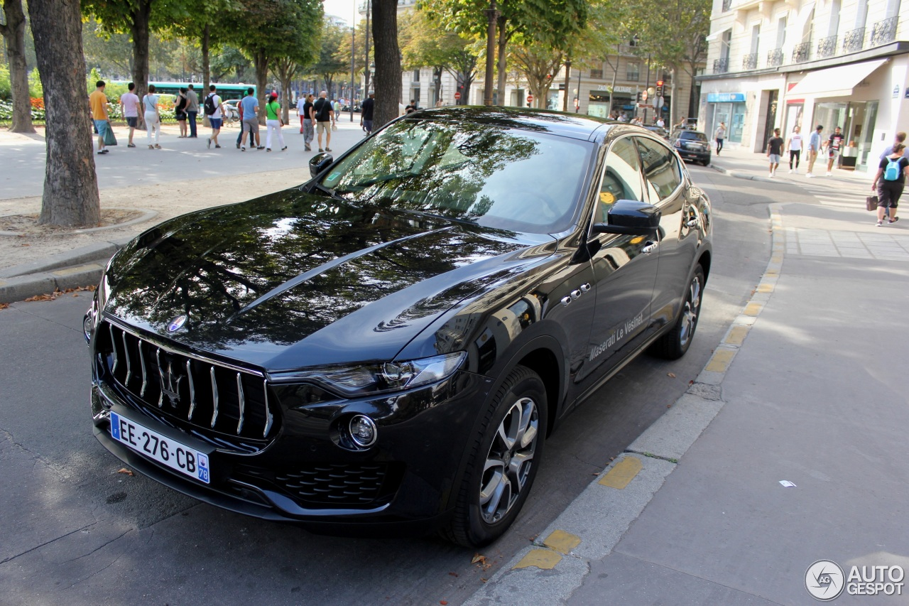 maserati levante s 26 august 2016 autogespot. Black Bedroom Furniture Sets. Home Design Ideas