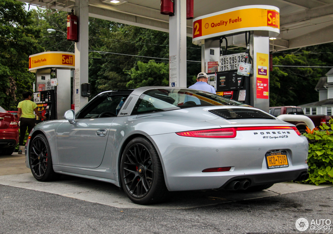 porsche 991 targa 4 gts 26 august 2016 autogespot. Black Bedroom Furniture Sets. Home Design Ideas