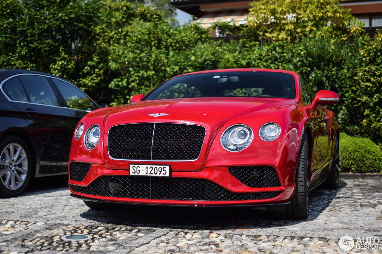 bentley continental gt v8 s 2016 27 august 2016 autogespot. Black Bedroom Furniture Sets. Home Design Ideas