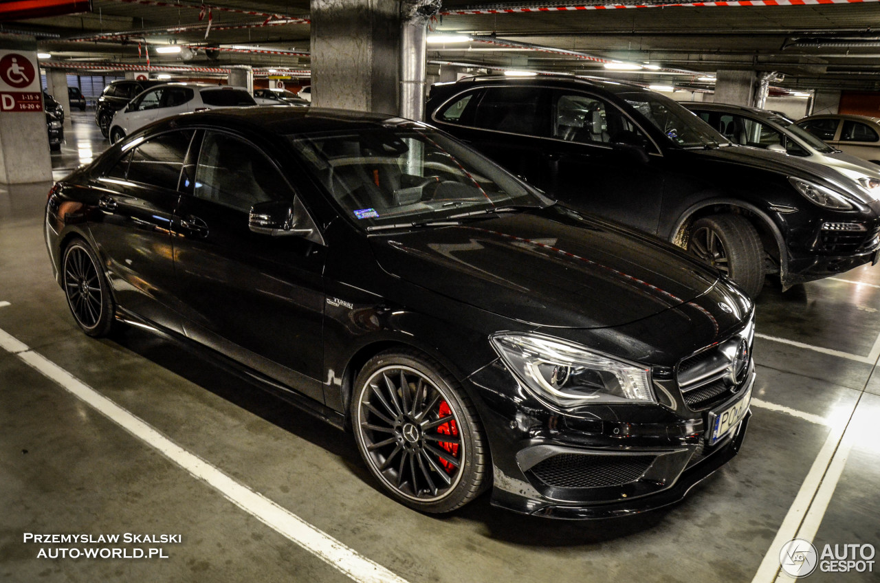 mercedes benz cla 45 amg c117 27 august 2016 autogespot. Black Bedroom Furniture Sets. Home Design Ideas