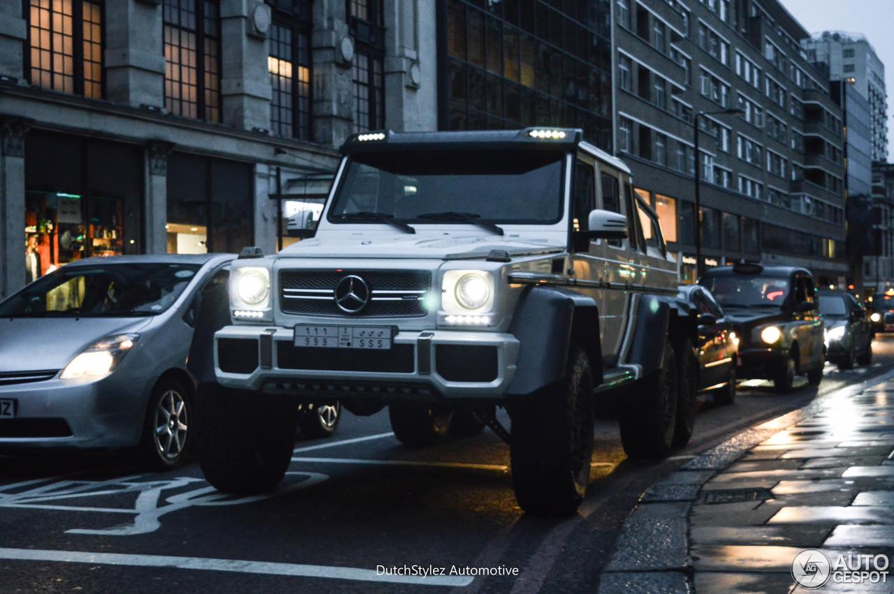 Mercedes benz g 63 amg 6x6 28 august 2016 autogespot for Mercedes benz g 63 amg 6x6