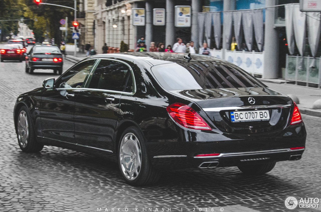Mercedes maybach s600 28 august 2016 autogespot for 2006 mercedes benz s600 for sale