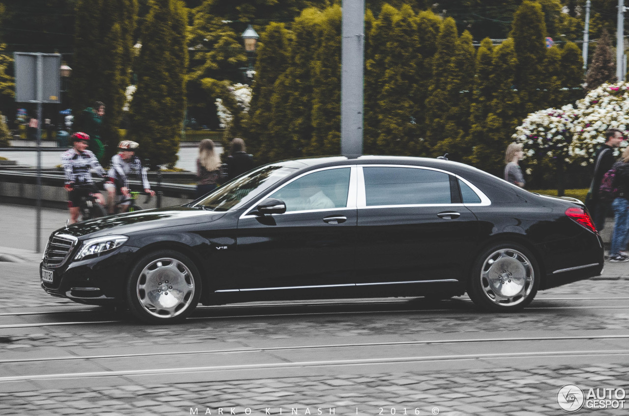 Mercedes maybach s600 28 august 2016 autogespot for 2008 mercedes benz s600 for sale