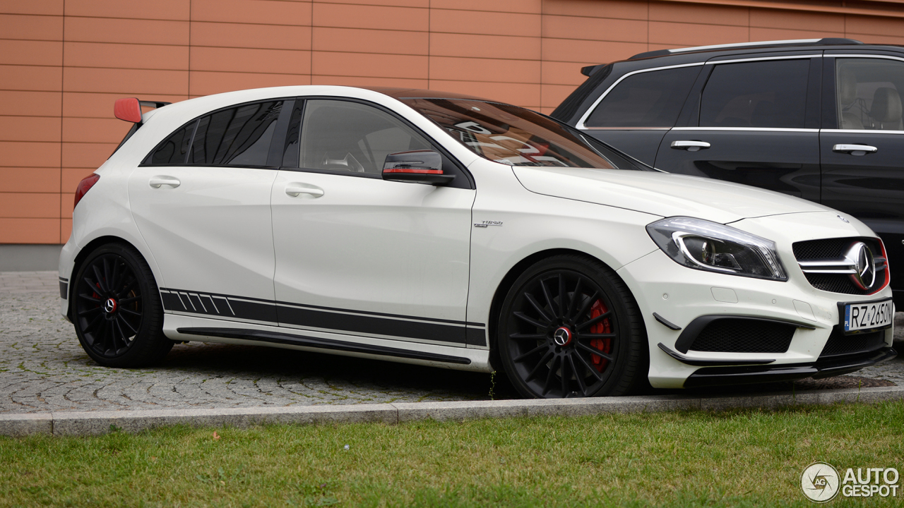 mercedes benz a 45 amg edition 1 29 august 2016 autogespot. Black Bedroom Furniture Sets. Home Design Ideas