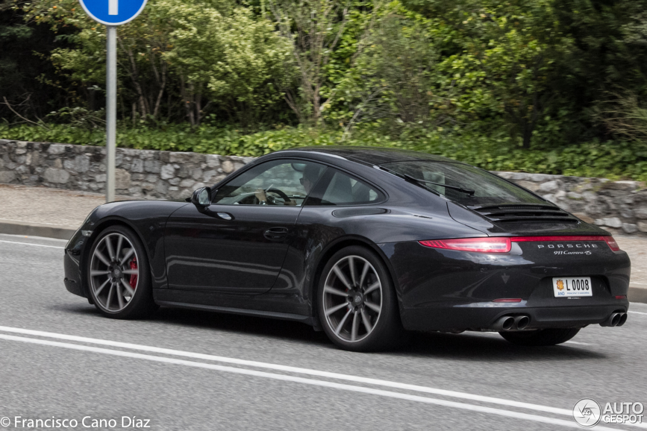 porsche 991 carrera 4s 29 august 2016 autogespot. Black Bedroom Furniture Sets. Home Design Ideas