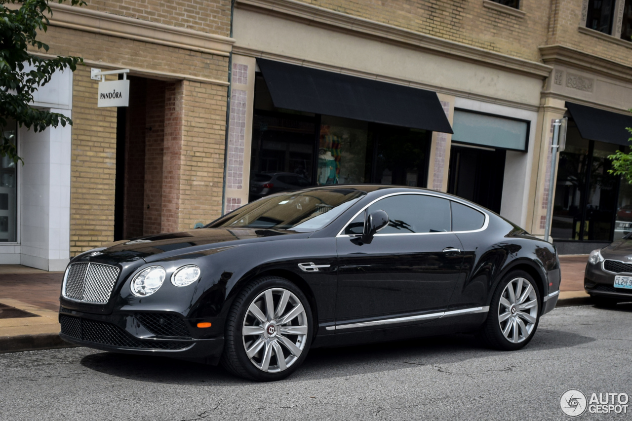 bentley continental gt v8 2016 30 august 2016 autogespot. Black Bedroom Furniture Sets. Home Design Ideas