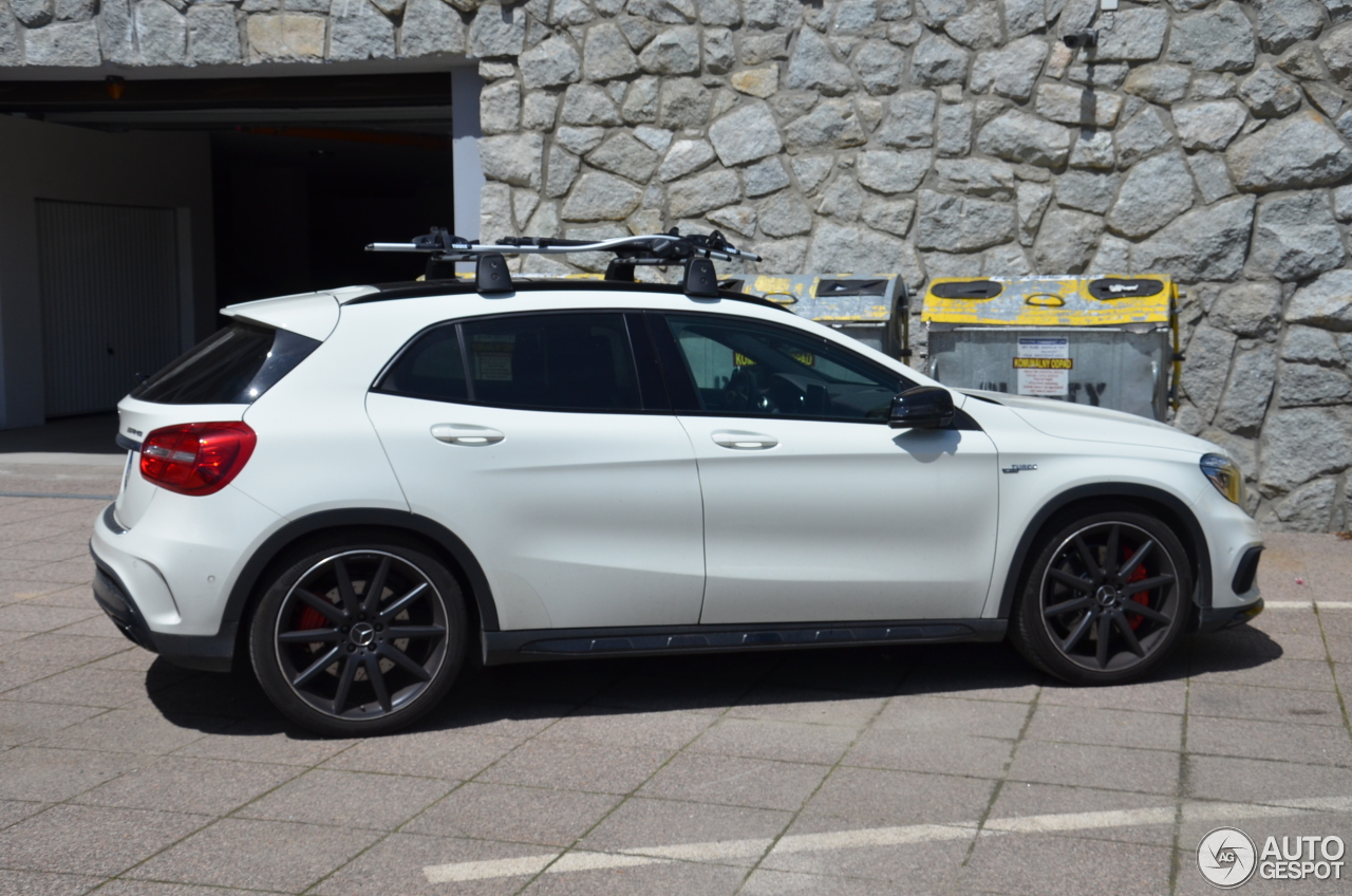 mercedes benz gla 45 amg x156 30 august 2016 autogespot. Black Bedroom Furniture Sets. Home Design Ideas