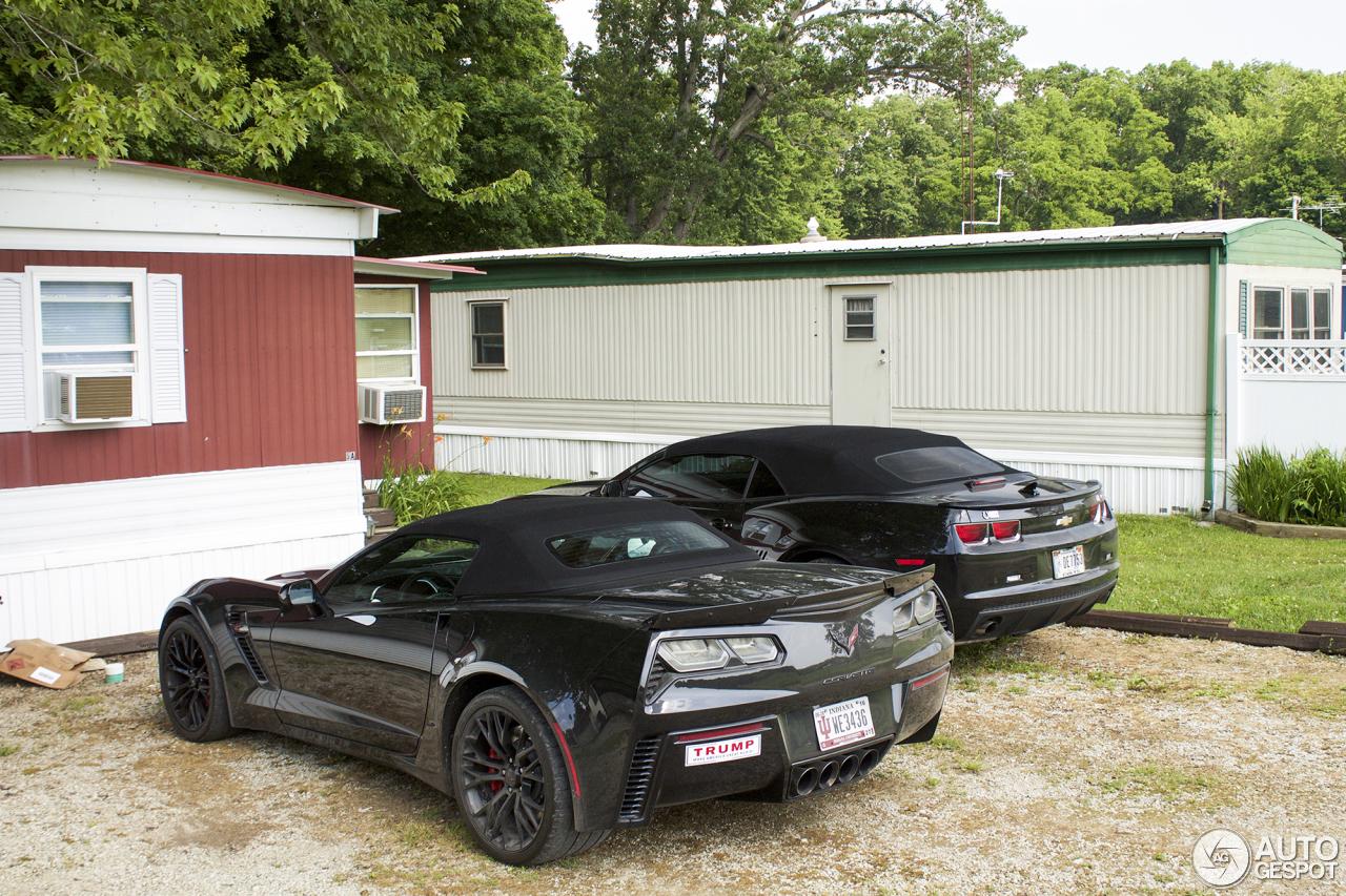 Chevrolet Corvette C7 Z06 Convertible 31 August 2016