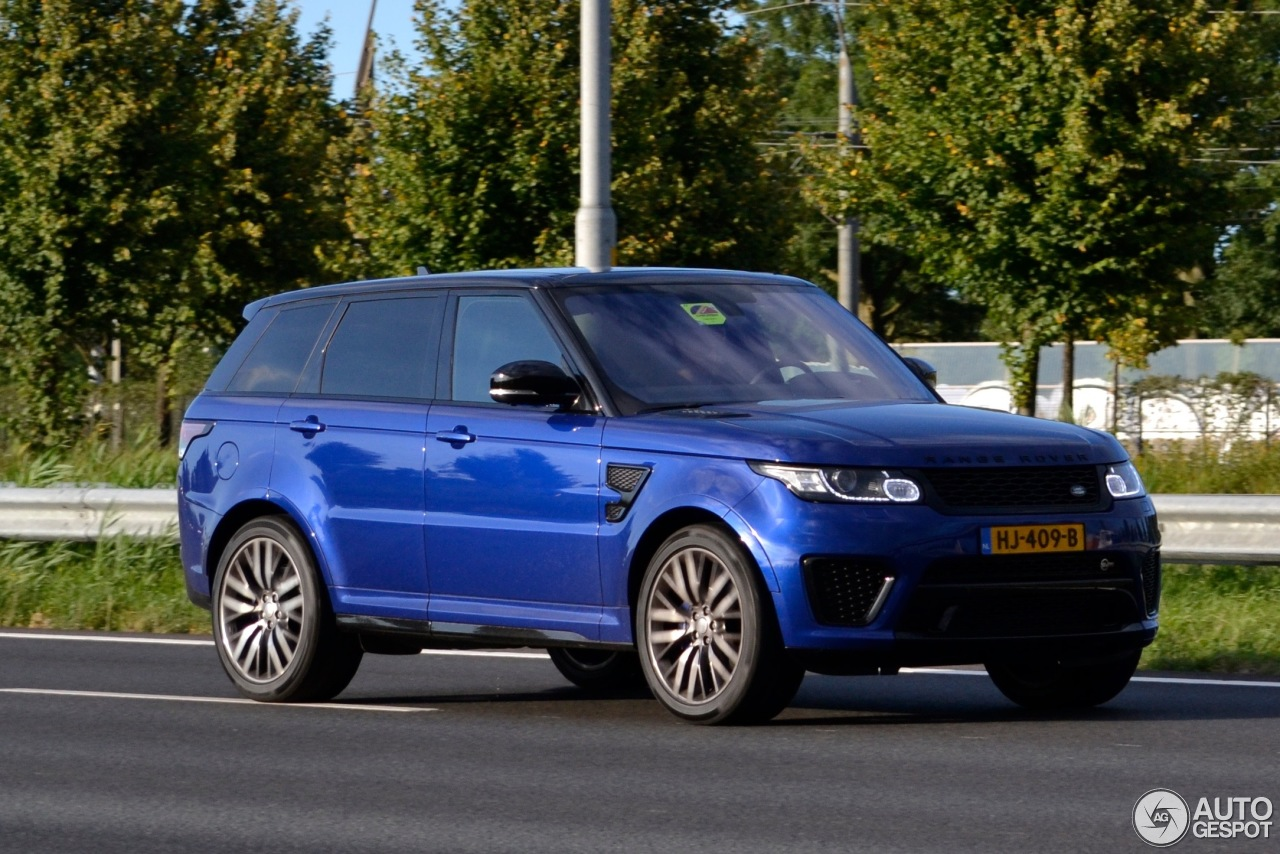 land rover range rover sport svr 31 august 2016 autogespot. Black Bedroom Furniture Sets. Home Design Ideas