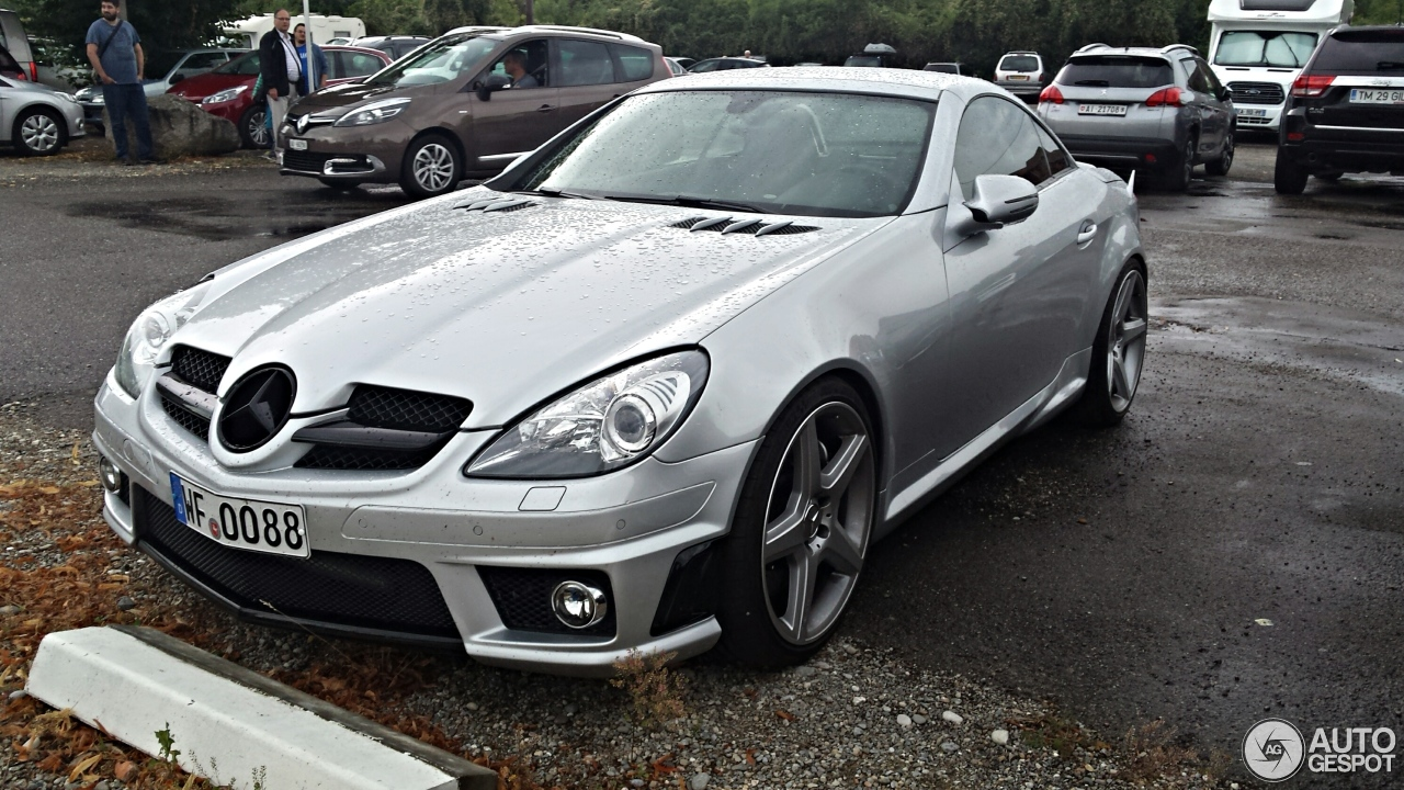 mercedes benz slk 55 amg r171 2007 31 august 2016 autogespot. Black Bedroom Furniture Sets. Home Design Ideas