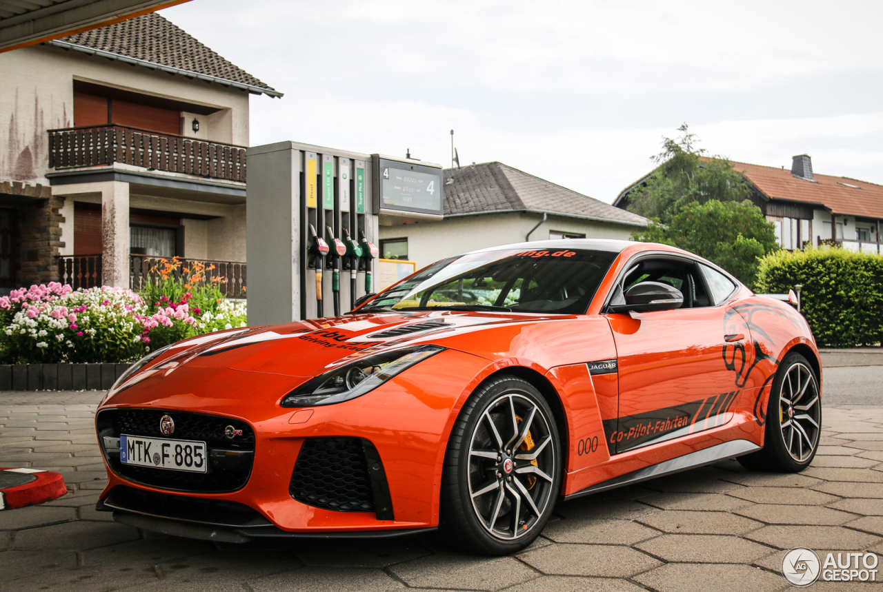 jaguar f type svr coup 1 septembre 2016 autogespot. Black Bedroom Furniture Sets. Home Design Ideas