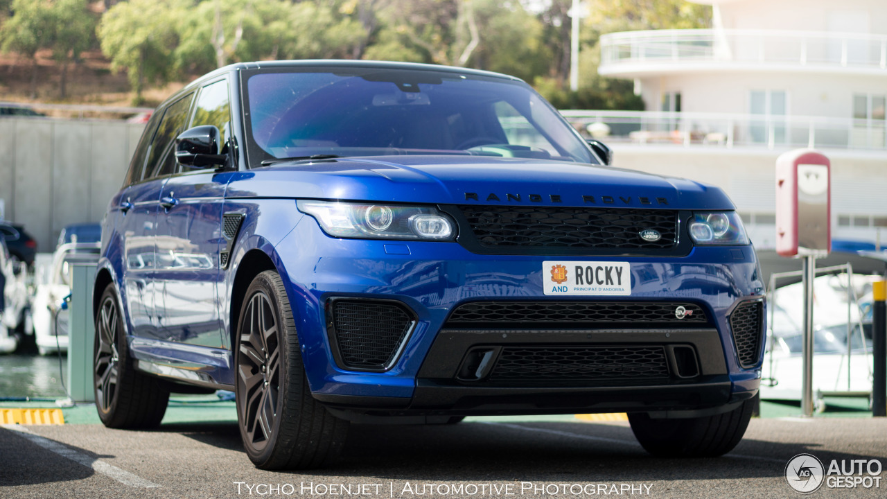 land rover range rover sport svr 2 september 2016. Black Bedroom Furniture Sets. Home Design Ideas