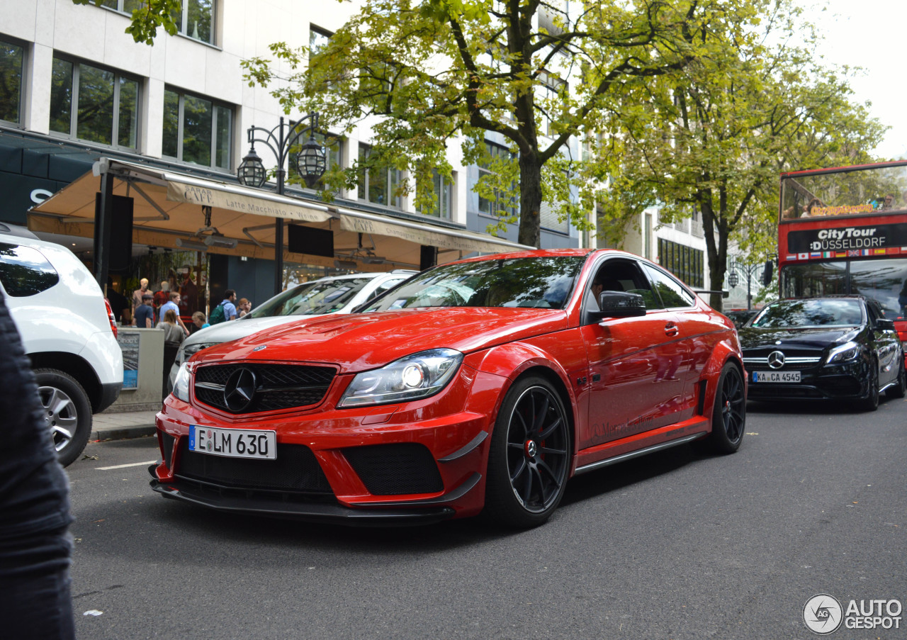 Mercedes benz c 63 amg coup black series 2 september for C series mercedes benz