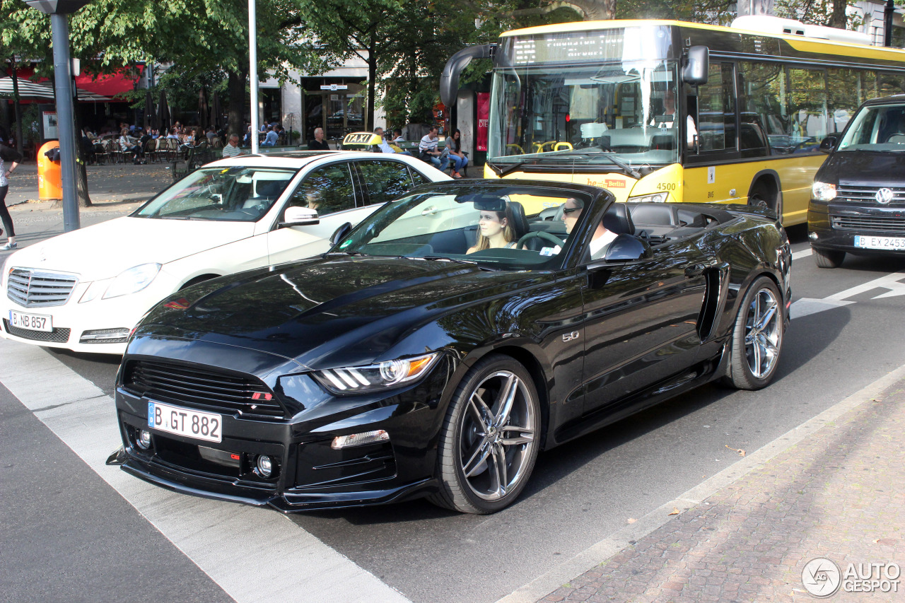 ford mustang roush stage 3 convertible 2015 3 september 2016 autogespot. Black Bedroom Furniture Sets. Home Design Ideas