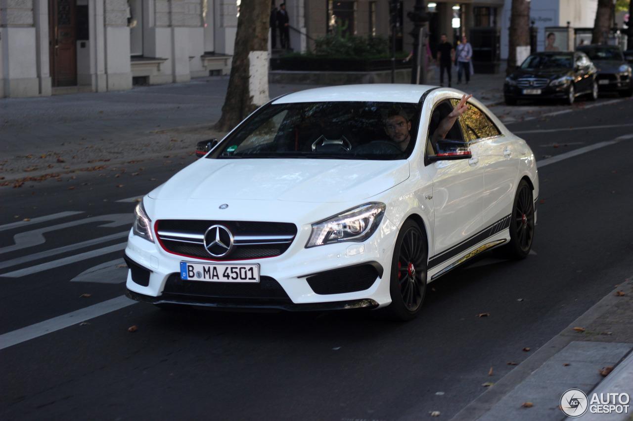 Mercedes benz cla 45 amg edition 1 c117 3 september 2016 for Mercedes benz cla 250 2010