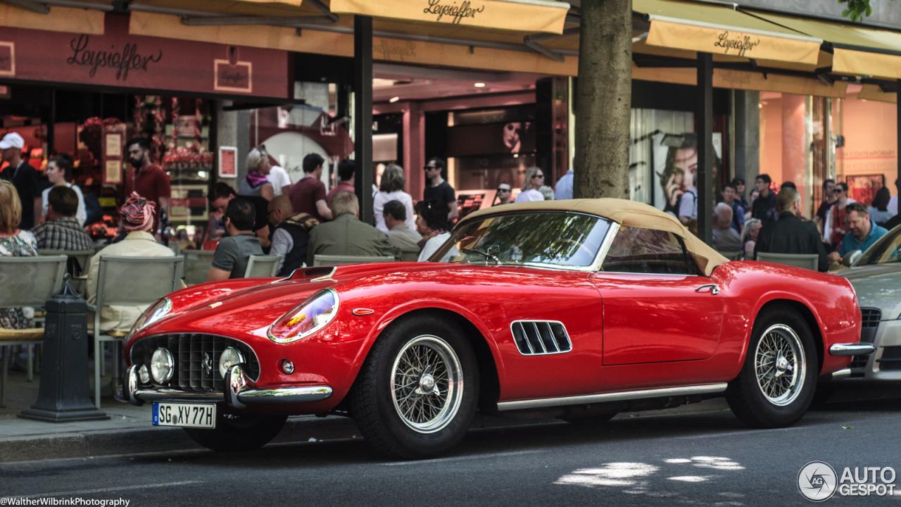 Matte Red Car >> Ferrari 250 GT California Spider - 4 September 2016 - Autogespot