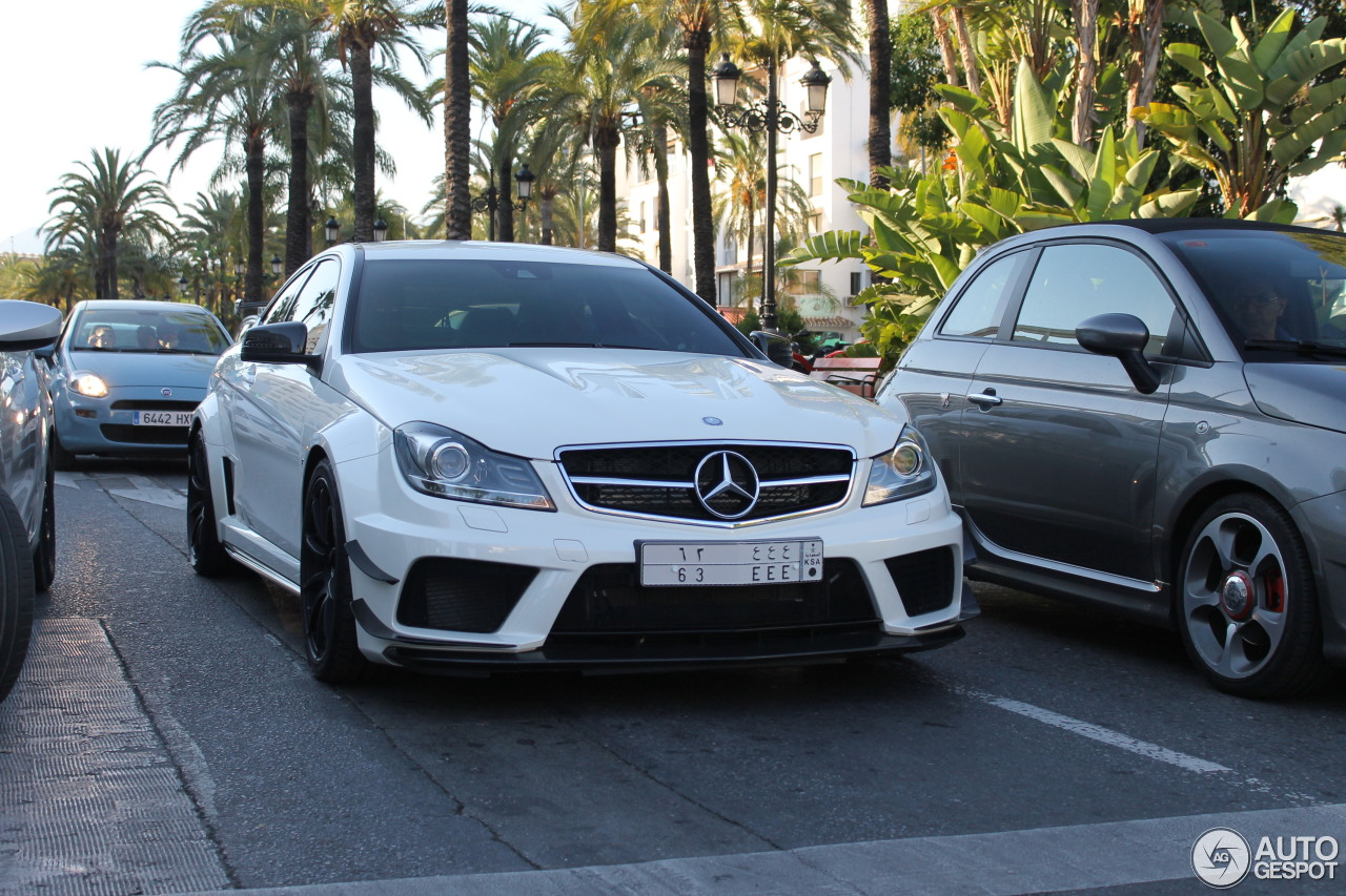 Mercedes benz c 63 amg coup black series 4 september for Mercedes benz 3 series